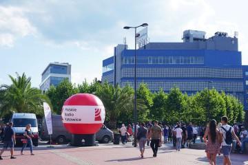 Advertising balloon (Gamma model) Polskie Radio Katowice