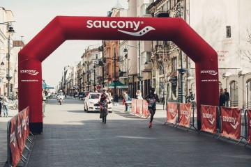 Saucony constant pressure starting gate