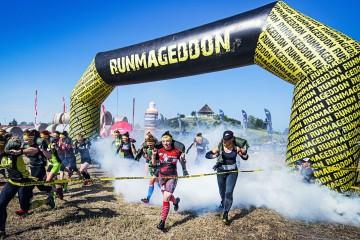 Runmageddon polygon running gate