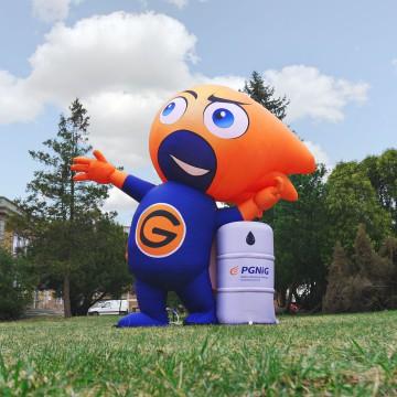 Inflatable PGiNG mascot