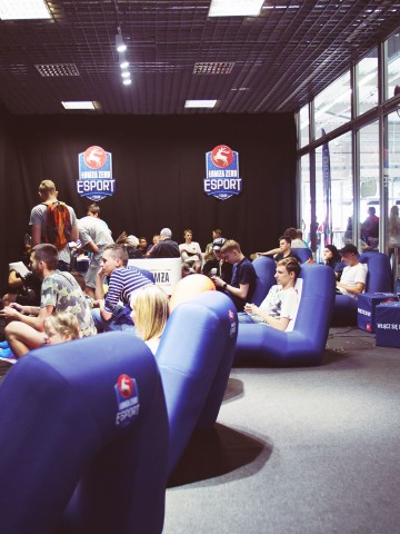 VENTO inflatable seats during the Esport Łomża Tour tournament