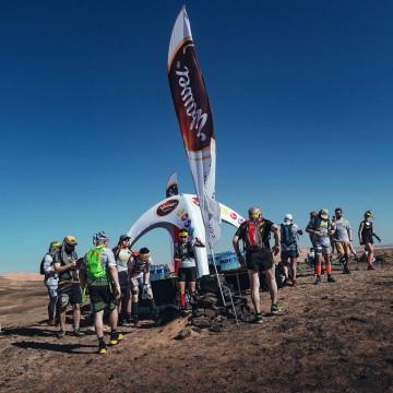 Constant pressure VENTO tent in the Sahara desert