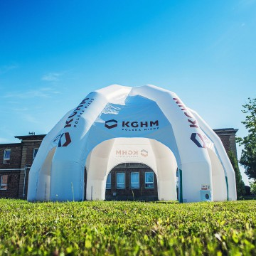 Huge KGHM inflatable Tent (6-legged)