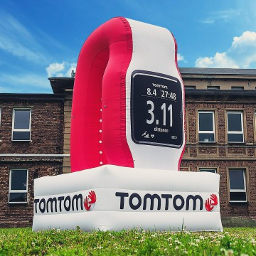 Product replica - TomTom watch balloon